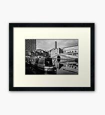 Birmingham Canal Bridge Framed Print