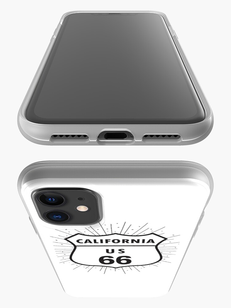 Alternate view of California route 66 iPhone Case & Cover