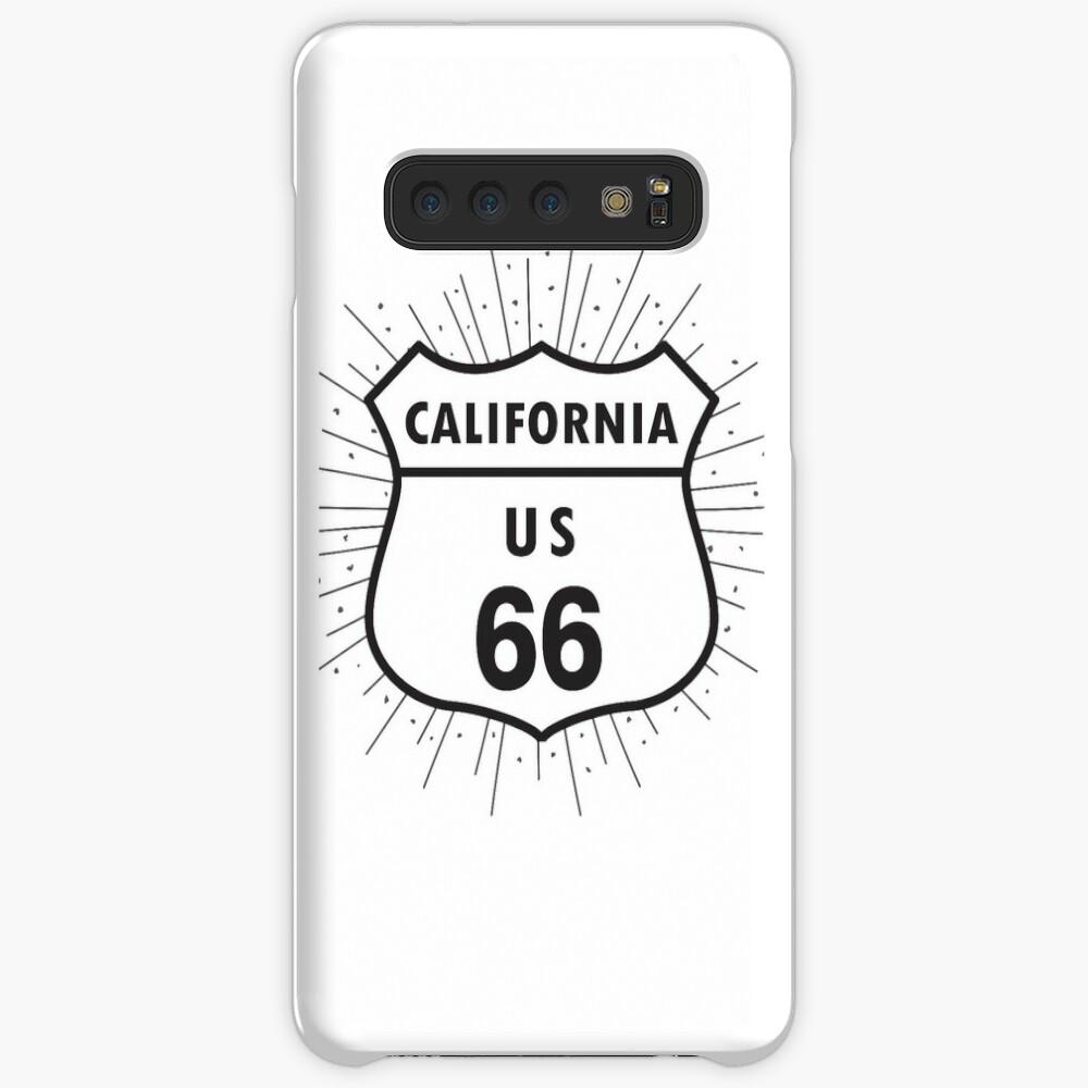 California route 66 Case & Skin for Samsung Galaxy