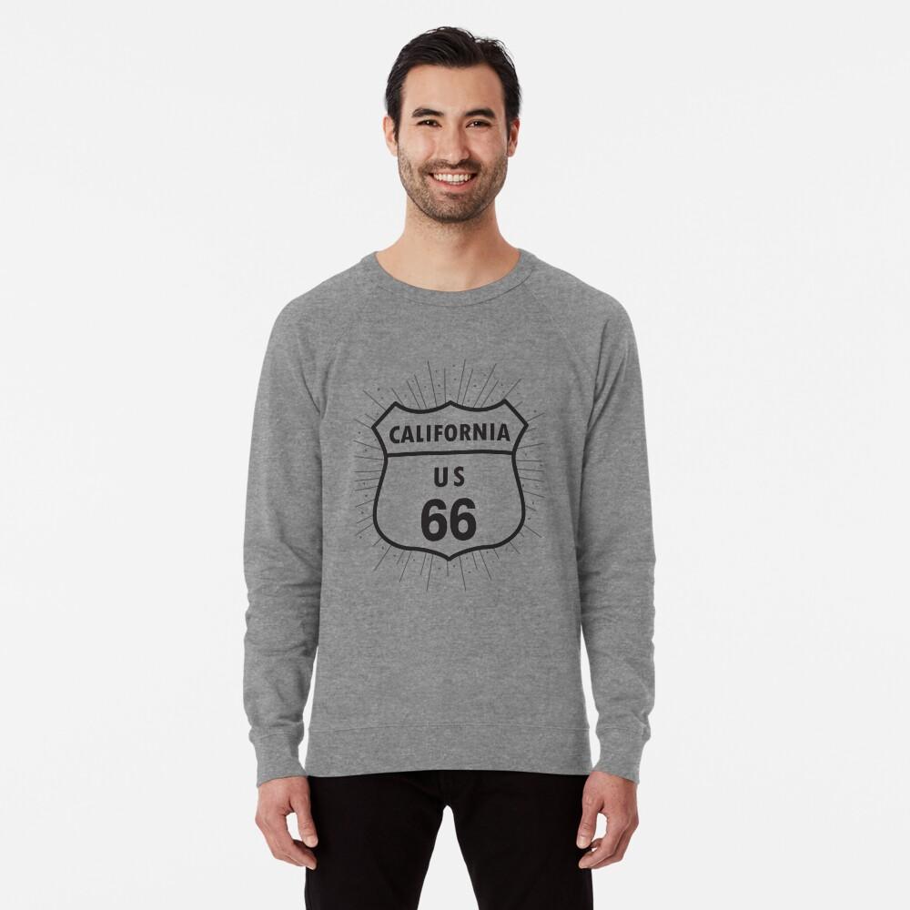 California route 66 Lightweight Sweatshirt