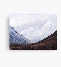 Mountain Valley Canvas Print