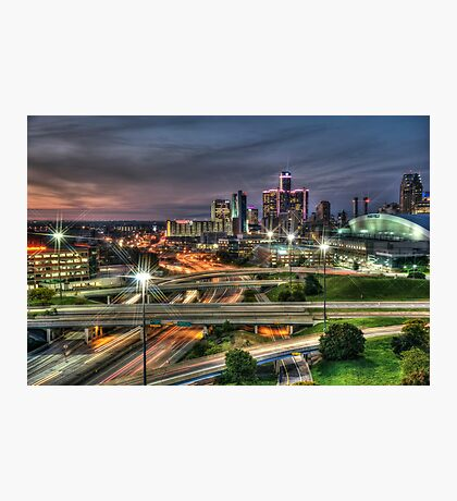 Detroit Rush Hour  Photographic Print