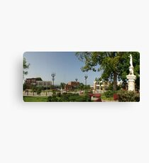 Downtown McMinnville Tennessee Canvas Print