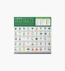 Lámina rígida Guía de Cook Smarts para disfrutar de vegetales (3500px)