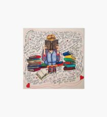 Reading is Dreaming with Open Eyes. Art Board Print