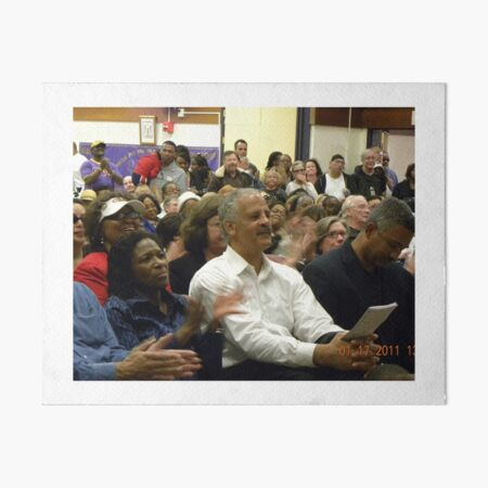 Stedman Graham at MLK Celebration  Art Board Print