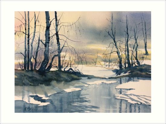 Signs of Spring by Glenn  Marshall
