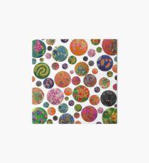 Petri Dish Polka Dot Art Board Print