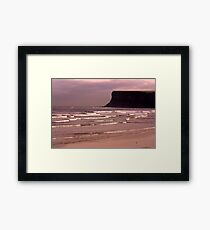 View to Saltburn Scar Framed Print
