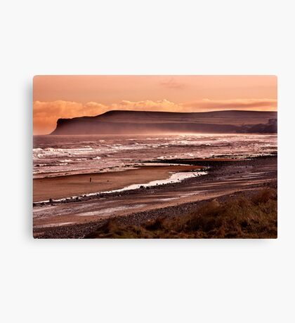 Saltburn Bay Canvas Print