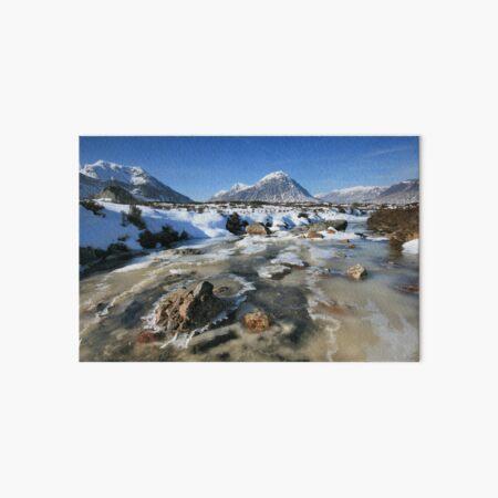 Scotland: Rannoch Winter Art Board Print