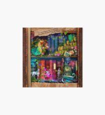 The Curious Library Calendar - December Art Board Print