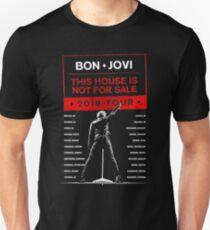 Bon Jovi Tour 2019 Slim Fit T-Shirt