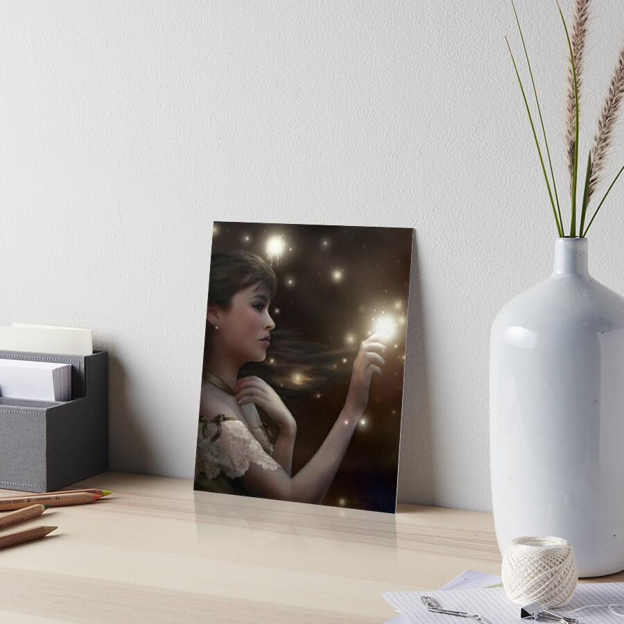Fireflies Art Board Print