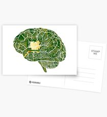 Circuit Brain Postcards