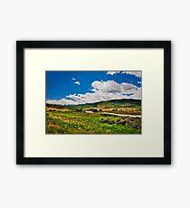 Scenic Valley Framed Print