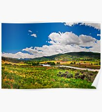 Scenic Valley Poster