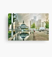 On The Riverfront Canvas Print