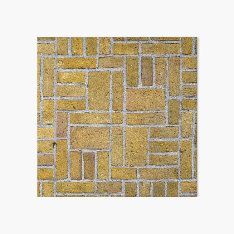 Beautiful brick - Erasmuspark entrance (3) Art Board Print