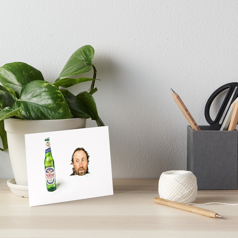 Hmmmm, Beer!! Art Board Print