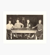 No.2 Benton High School (abt 1955) Art Print