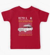 ECTO-1 Service and Repair Manual Kids Tee