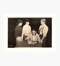 No.3 Benton High School (abt 1955) Art Print