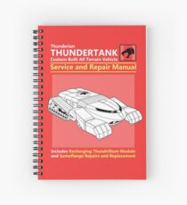 Thundertank Service and Repair Manual Spiral Notebook
