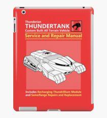 Thundertank Service and Repair Manual iPad Case/Skin