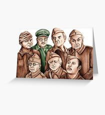 Dad's Army Greeting Card