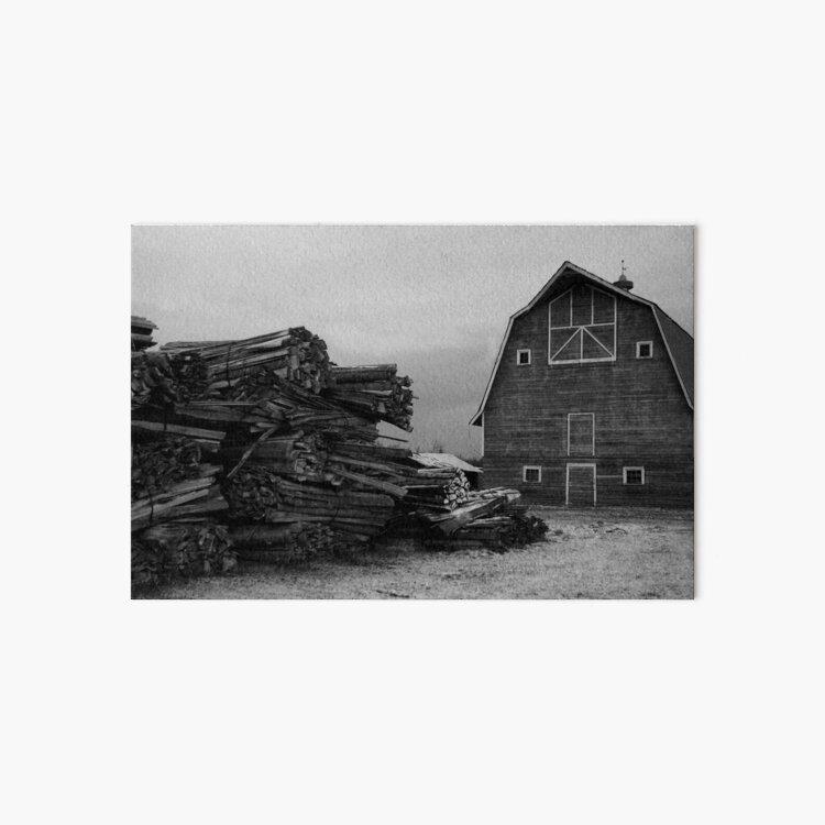 The Barn Art Board Print