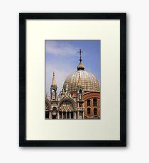 St Mark's Basilica Framed Print