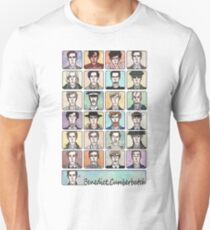 Benedict Cumberbatch Faces Unisex T-Shirt