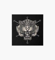 Eye of the Tiger Art Board Print