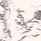 «Veo la belleza - Blanco y negro cálido» de SilverPegasus