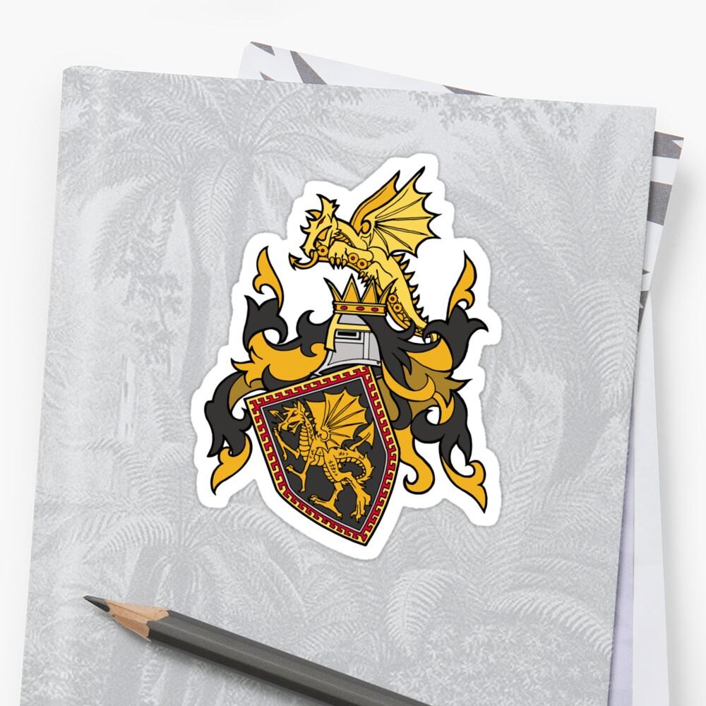 Dark Ages Clan Shield: Tzimisce Sticker