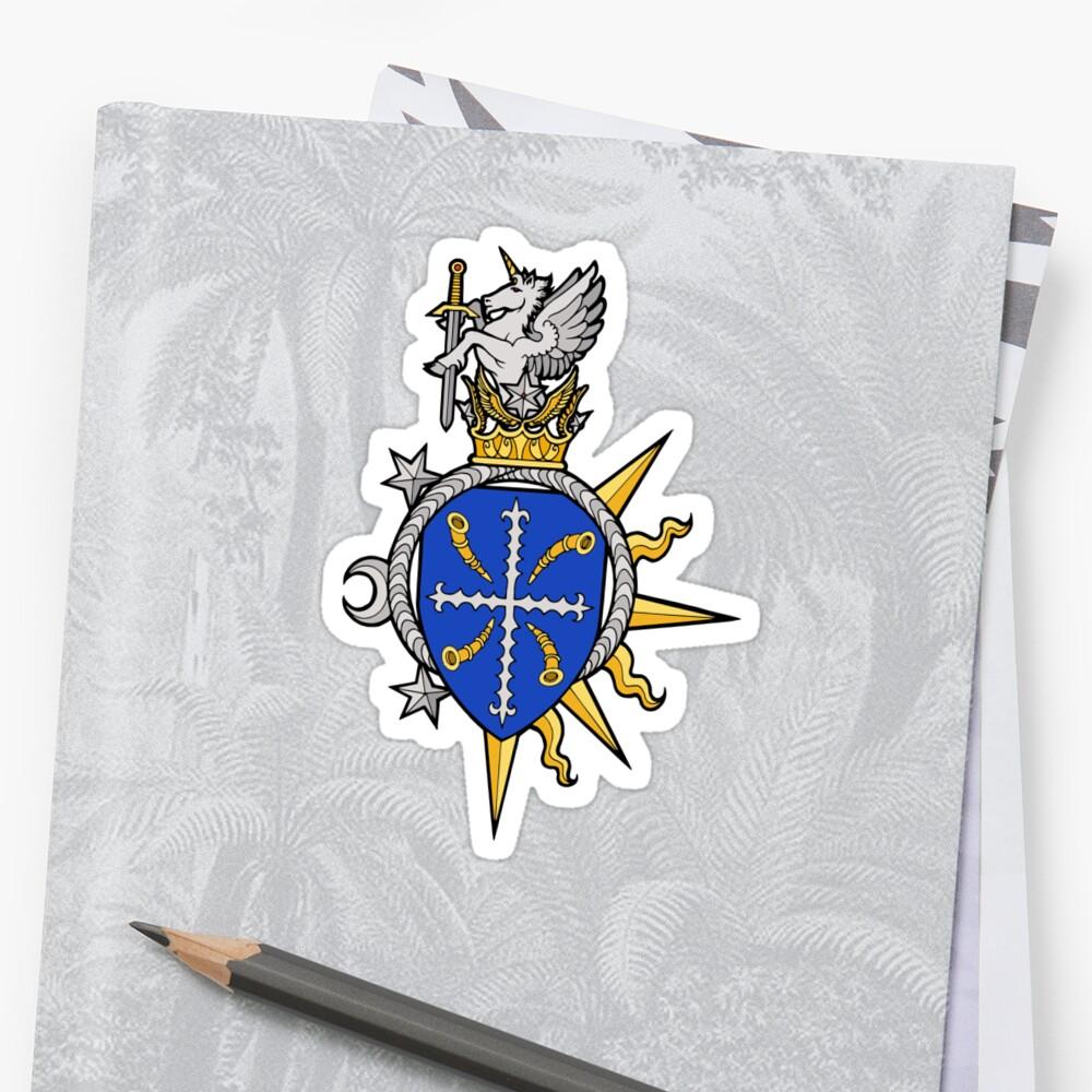 Dark Ages Clan Shield: Ravnos Sticker