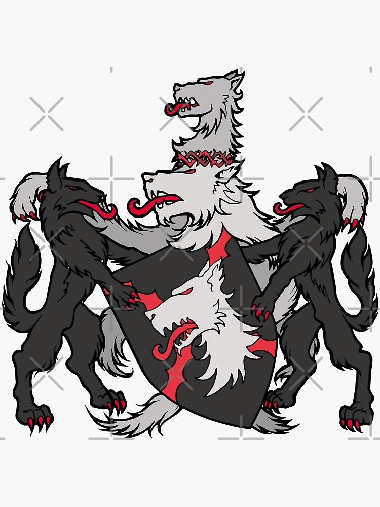 Dark Ages Clan Shield: Gangrel by TheOnyxPath
