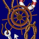 Nautical Marine and Navigation Elements by BluedarkArt