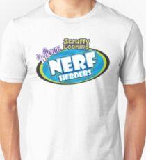 SCRUFFY LOOKING NERF HERDERS LOGO Unisex T-Shirt