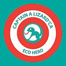 Captain A-lizard-ca SHIELD by stringerthings