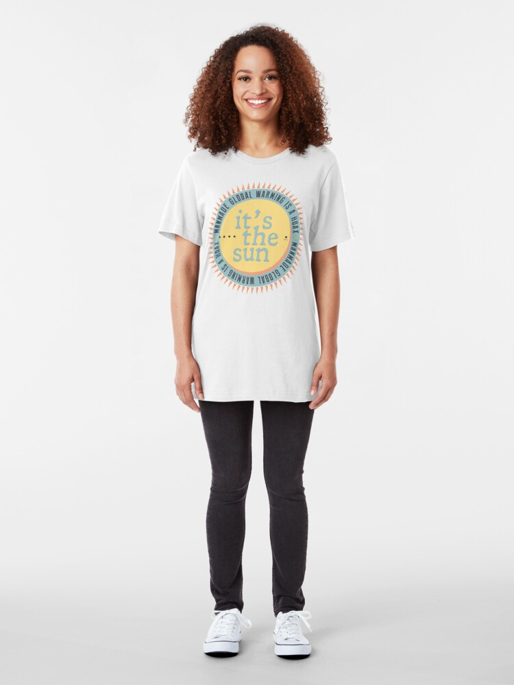 Alternate view of Its The Sun Slim Fit T-Shirt