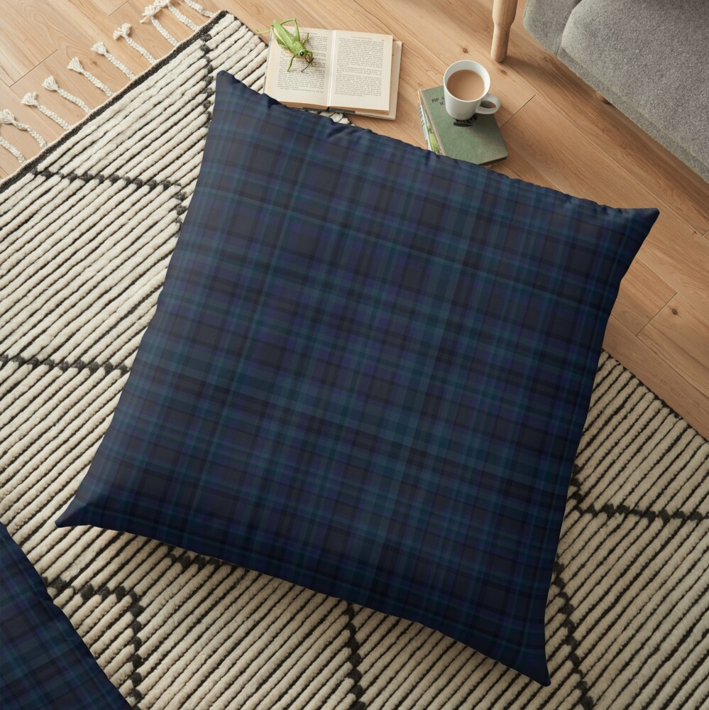 Tartan Floor Pillow
