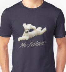 Me Falcor: Neverending Story Flying Poodle  T-Shirt