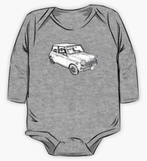 Mini Cooper Illustration One Piece - Long Sleeve