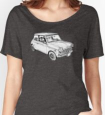 Mini Cooper Illustration Women's Relaxed Fit T-Shirt