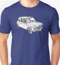 Mini Cooper Illustration Unisex T-Shirt