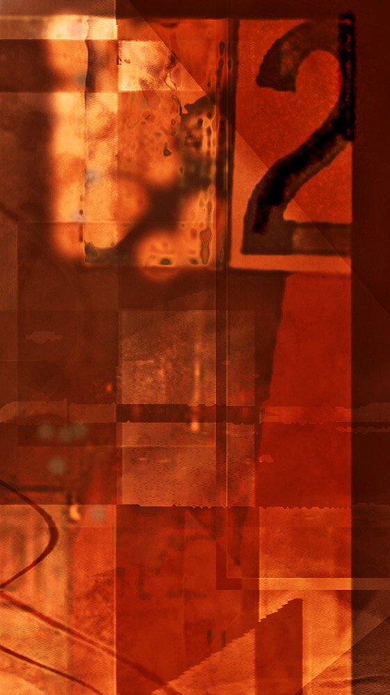 number 2 series: ~warm Red~ by Elizabeth Rodriguez