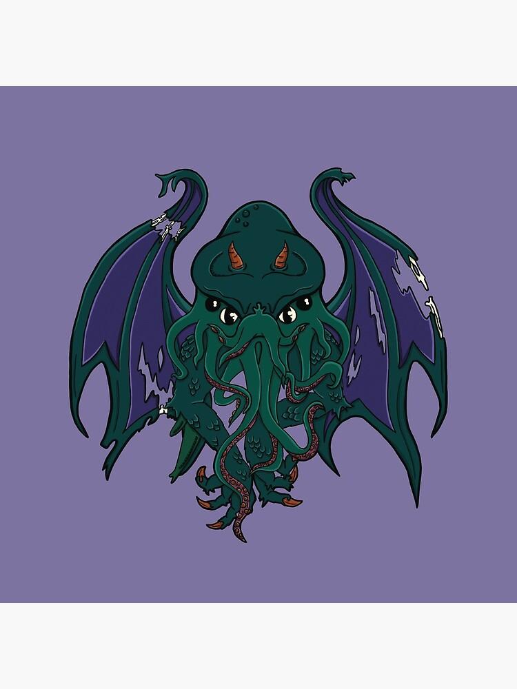 Cthulhu - Creatures of Mythos #1 by TinyKat-Design