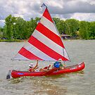 Afternoon Sailing the Canoe by ECH52